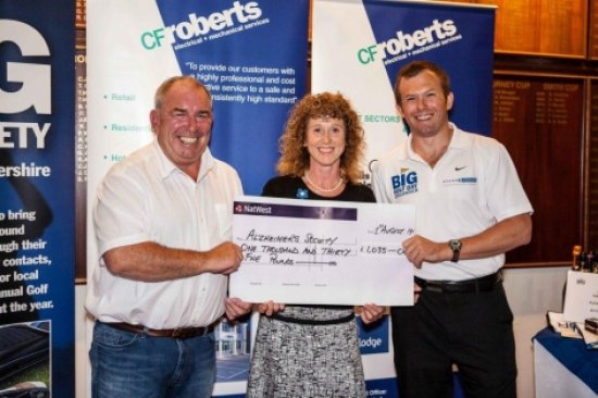 Business In Gloucestershire Golf Day brings charity total to £23,000