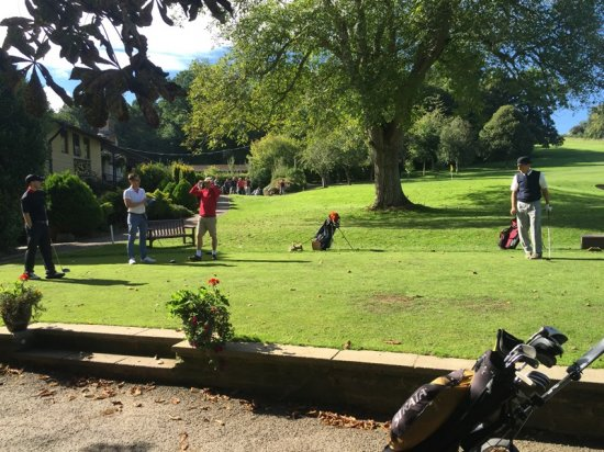 Business in Gloucestershire Golf Day goes with a swing