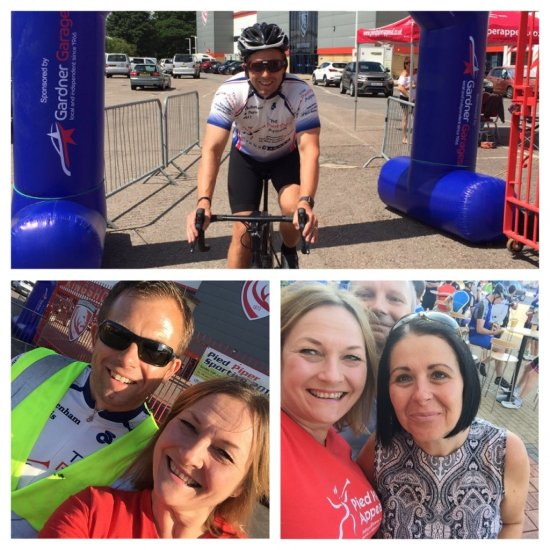 Evans Jones organise charity cycling event