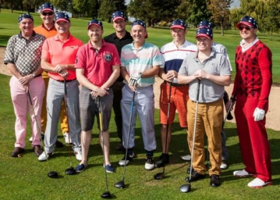 Construction professionals battle it out in Ryder Cup event