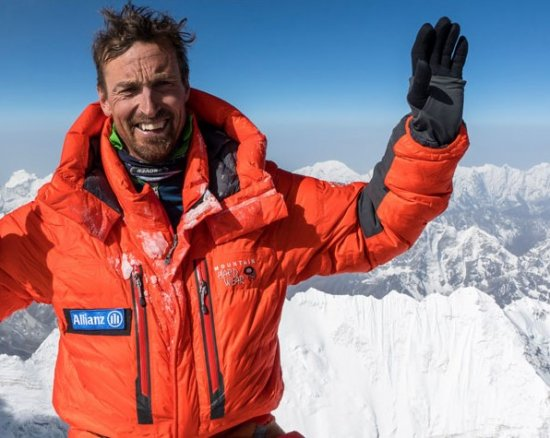 World-leading mountain climber to make guest appearance.
