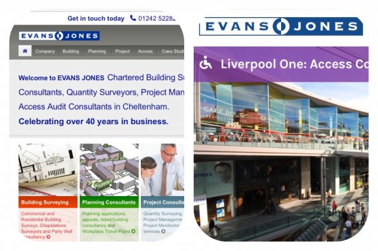 Welcome to the new Evans Jones website