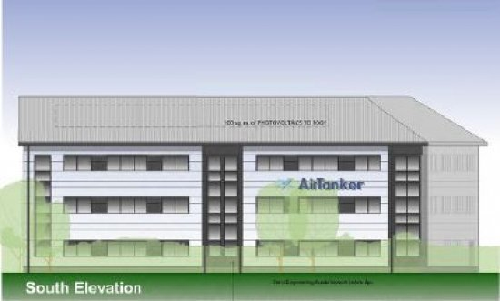 Plans submitted for new 1,866 sq m office development