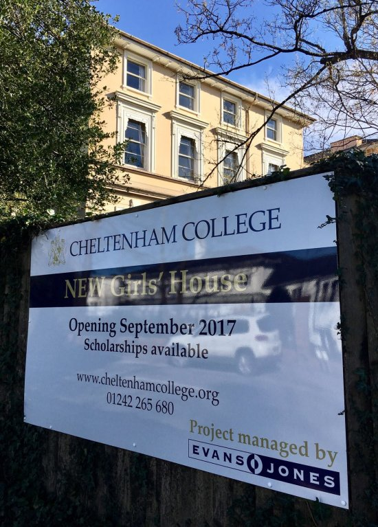 Work progressing on College Boarding House